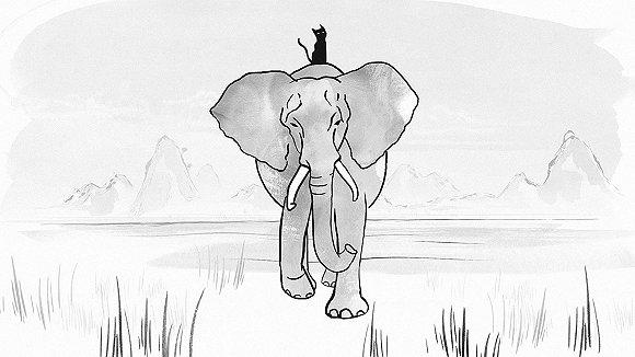 """祝你""""象年快乐"""":为什么野生动物保护的宣传片有如此"""