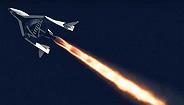 """维珍银河公司的""""太空船二号""""首次触达太空"""