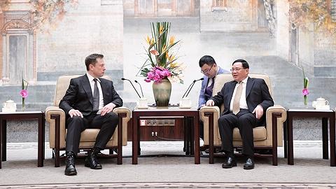 特斯拉上海超级工厂从签约到开工仅用半年!再晤李强、应勇,马斯克惊叹上海速度