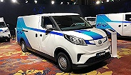 基于首个纯电物流车专属架构打造 上汽大通EV30纯电智能物流车正式上市
