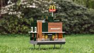 全世界最小的麦当劳开业了,里面只卖蜂蜜